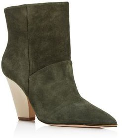 Lili Pointed-Toe Booties