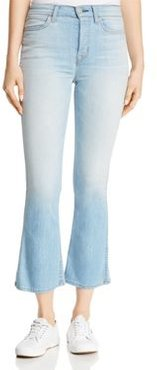 Holly High-Rise Cropped Boot Jeans in Closer