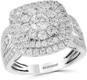 Diamond Cluster Ring in 14K White Gold, 1.85 ct. t.w. - 100% Exclusive