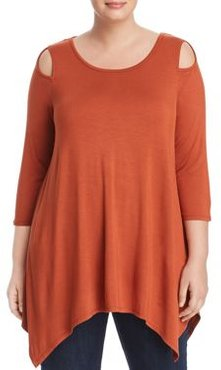 Cold-Shoulder Tunic