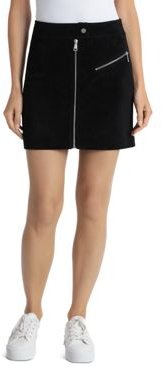 Bagatelle. nyc Suede Mini Skirt