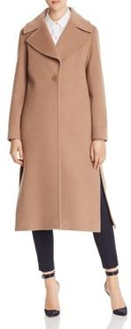 Wool & Cashmere Notched Collar Coat