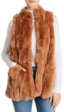 525 America Real Rex Rabbit Fur Vest