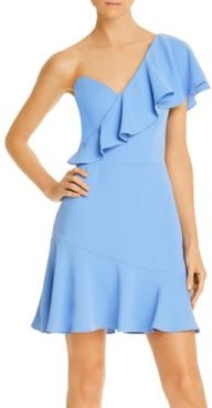 McKinnon Ruffled One-Shoulder Mini Dress