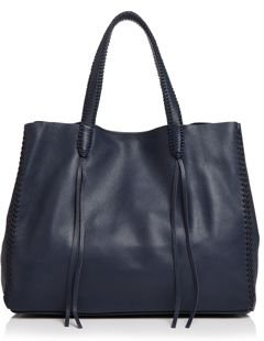 Iconic Medium Leather Tote