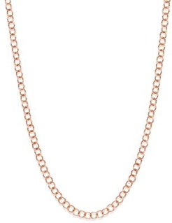 Light Chain in Rose Gold-Tone, 15.35