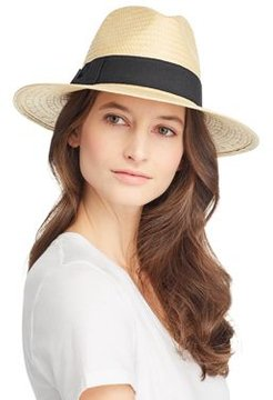 Ribbon-Trim Panama Hat - 100% Exclusive