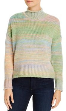 525 America Space-Dye Mock-Neck Sweater