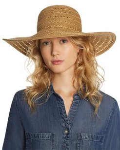 Summer Glow Floppy Hat