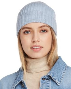 Chunky Rib-Knit Cashmere Beanie - 100% Exclusive