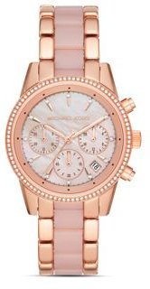 Ritz Rose Gold-Tone Chronograph, 37mm
