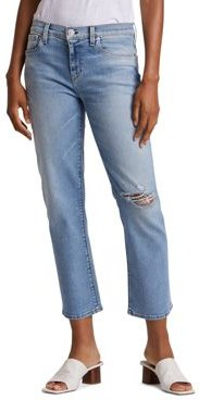 Nico Ankle Straight Jeans in Recover