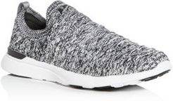 Techloom Wave Lace-Up Knit Low-Top Sneakers