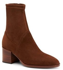 Tia Weatherproof Stacked Heel Booties