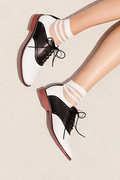 Dora Saddle Shoe by Bass at Free People