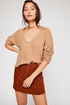 Forever Cashmere V-Neck Sweater by Free People