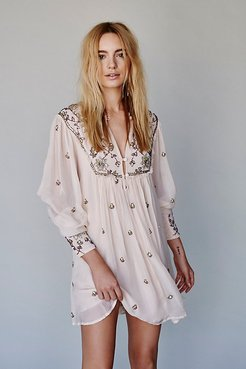 Golden Sun Dress at Free People