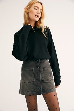 Cozy Cashmere Turtleneck Sweater by Free People