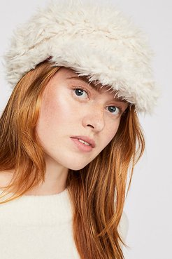 Lulu Faux Fur Cap by House of Lafayette at Free People