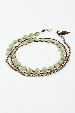 Cleansing Stone Wrap Bracelet by Feathered Soul at Free People
