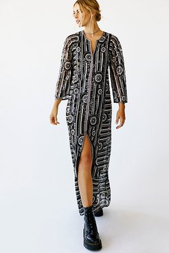 Sequin Maxi Dress by Anna Sui at Free People