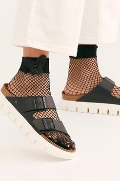 Butterfly Net Socks by High Heel Jungle at Free People