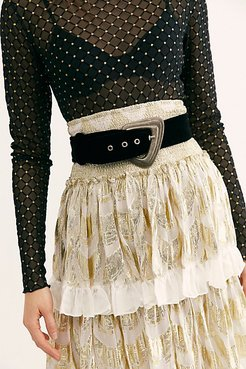 Evalina Velvet Belt by FP Collection at Free People