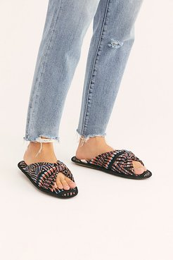 Spa Slide Slipper by Ariana Bohling at Free People