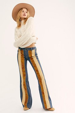 Roads Low Rise Cord Flare Jean by We The Free at Free People