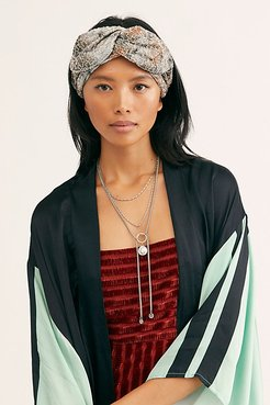 Elida Knotted Headwrap by Deepa Gurnani at Free People
