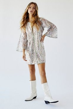 Sequin Mini Dress by Anna Sui at Free People
