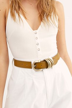 Rori Leather Belt by FP Collection at Free People