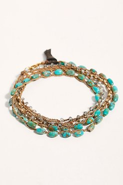 Protection Wrap Bracelet by Feathered Soul at Free People