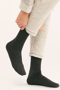 Superfine Cashmere Roll Top Socks by Hansel From Basel at Free People