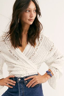 The Maya Stone Cuff by Ayana Designs at Free People