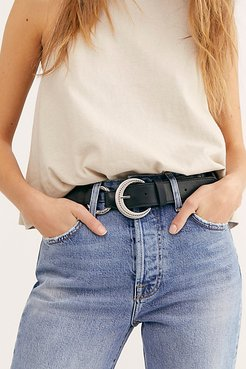 Kendall Leather Belt by FP Collection at Free People