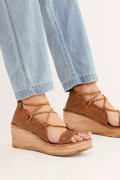 Maya Wrap Wedges by A.S. 98 at Free People