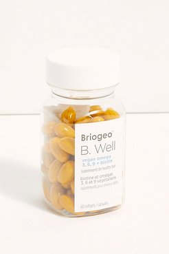 B Well Omega + Biotin Hair Supplements at Free People
