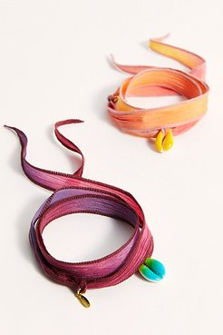 Hand Dyed Shell Bracelet by ALLTHEMUST at Free People