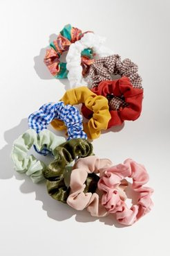 Perfect 10 Scrunchie Set - Assorted at Urban Outfitters