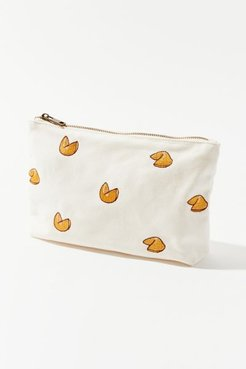 Embroidered Pattern Pouch - Orange at Urban Outfitters