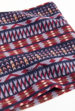 Patagonia Micro D Fleece Neck Gaiter Scarf - Blue at Urban Outfitters