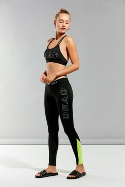 Colorblock Legging - Black XS at Urban Outfitters