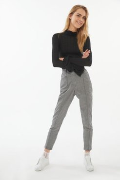 UO Plaid Tapered Mom Pant - Assorted M at Urban Outfitters