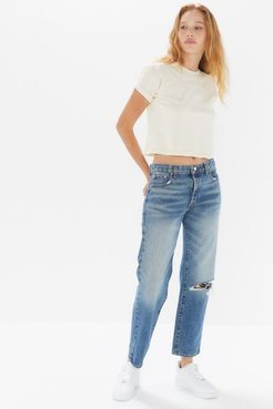 Low-Rise Boyfriend Jean - Vintage - Blue 28 at Urban Outfitters
