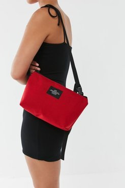 Crossbody Belt Bag - Red at Urban Outfitters