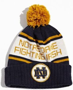 University Of Notre Dame Pompom Beanie - Blue at Urban Outfitters