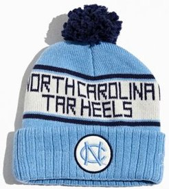 University Of North Carolina Pompom Beanie - Blue at Urban Outfitters