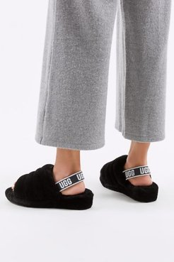 Fluff Yeah Slide Sandal - Black 6 at Urban Outfitters