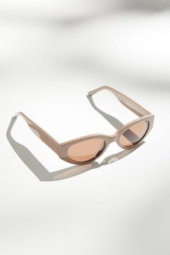 Quin Sunglasses - Beige at Urban Outfitters